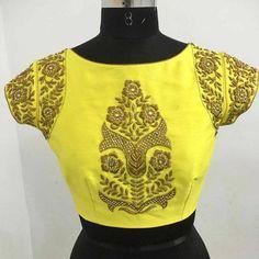 designer blouse.