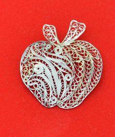 Apple brooch ;)