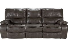 10 best reclining couch images reclining couch grey leather rh pinterest com