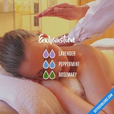 Exhaustion - Essential Oil Diffuser Blend