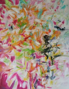 Paradise 60 x 48 inches Abstract Oil, Oil On Canvas, Love Her, Paradise, Paintings, Colour, Artist, Inspiration, Color
