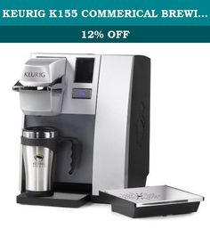 KEURIG K155 COMMERICAL BREWING SYSTEM with Bonus K-Cup Portion Trial Pack. 1 Keurig Brewer with bonus 12-count K-cups Water reservoir holds up to 90 ounces; Full color touch screen interface and automatic shut-off; Removable drip tray for travel mug use. Heats and brews in less than one minute at the touch of a button; Brews one cup at a time; Brew size options of 4, 6, 8, and 10 ounces. 1,400 Watts, 120 VAC.