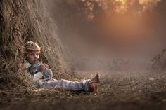 Russian photographer takes magical pictures of her children