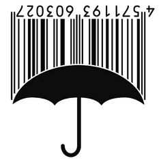 Creative umbrella barcode
