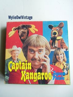 captain kangaroo - everything about this show was just great!