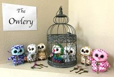 Harry Potter Birthday Party Ideas - Buggy and Buddy - Harry Potter Birthday Party Ideas – Buggy and Buddy Harry Potter Birthday Party idea for the owlery with stuffed owls Baby Harry Potter, Harry Potter Baby Shower, Harry Potter Motto Party, Harry Potter Fiesta, Classe Harry Potter, Harry Potter Thema, Harry Potter Nursery, Harry Potter Classroom, Theme Harry Potter