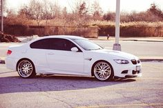 White BMW - the chances of me seeing this randomly posted is odd.