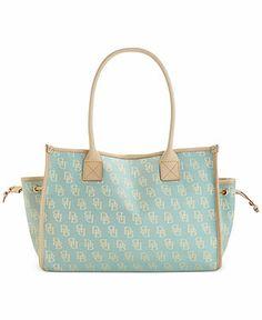 Dooney & Bourke Small Signature Tote - Dooney & Bourke - Handbags & Accessories - Macy's
