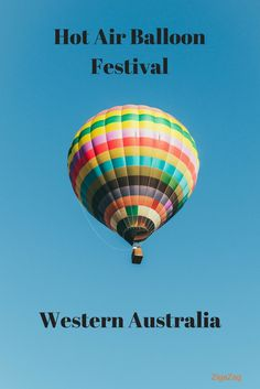 Hot air balloon festival and championships in Northam, Western Australia. Photographers and Instagrammers be there or be square!