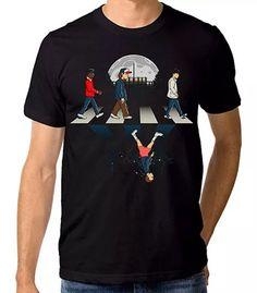 Stranger Things Abbey Road T-shirt, Men's Women's All Sizes Funnt T-shirt Stranger Things Eleven Shirt, Stranger Things Merchandise, Stranger Things Girl, Nasa Hoodie, Fancy Tops, Great T Shirts, Cotton Tee, Mens Tops, Abbey Road