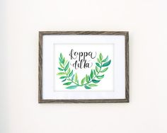 Tropical Kappa Delta by CoconutPaper on Etsy