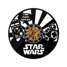 New Star Wars Wall O'Clock im your father
