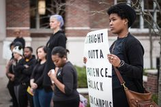 Black Student Union cites issues with MSU, protests in silence