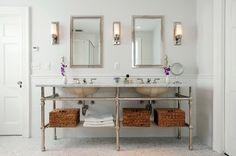 Elegant Bathroom Vanity Lighting Bathroom Design Elegant Bathroom Lighting Ideas With Double Houzz Bathroom, Bathroom Sconces, Bathroom Vanity Lighting, White Bathroom, Modern Bathroom, Master Bathroom, Bathroom Ideas, Bathroom Vanities, Bathroom Wall
