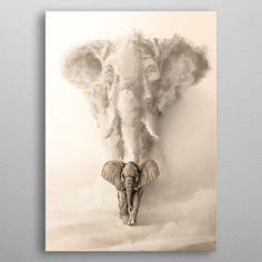 Born to be Wild: Elephant / Rafapasta Wild Elephant, Elephant Love, Elephant Family, Elephant Print, Elefant Wallpaper, Animal Drawings, Art Drawings, Elephant Drawings, Elephant Artwork