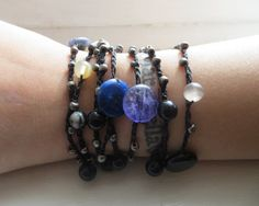 Galaxyl: Versatile crocheted necklace / bracelet / belt / headband on Etsy, $15.00
