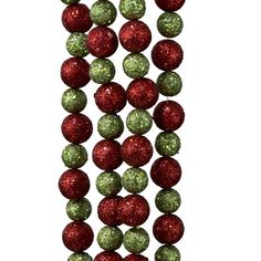 Kurt Adler Red And Lime Green Glitter Ball Christmas Garland >> More forbidden discounts at the link of image : Christmas Tree Toppers Green Glitter, Kitchen Gifts, Christmas Tree Toppers, Christmas Home, Seasonal Decor, Red Green, Creative Design, Garland, Lime