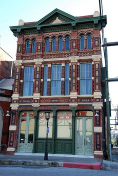 My favorite building on the island--the Trueheart Building on 22nd