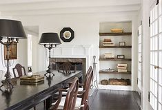 """Darryl Carter,Huntington White by Benjamin Moore  """"I use this color often because it is a very chameleon white that responds atmospherically as the day progresses."""" by jolene"""