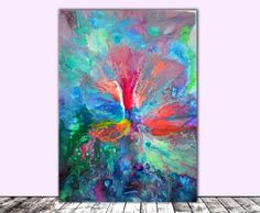 Perfect Harmony III - Abstract Painting - Ready to Hang, Office, Home, Hotel and Restaurant Wall Decoration