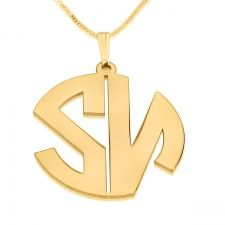 2 Letters Gold Plated Monogram Necklace - Open  A lovely design from our new collection  This customized monogram name necklace is actually an ideal gift to celebrate an intimate anniversary or any other special occasion such as Valentine's, birthday or any other special event.  $41  http://www.namenecklacesale.com/2_letters_gold_plated_monogram_necklace-open.html