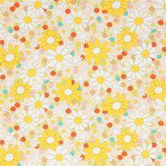 http://www.kawaiifabric.com/en/p11723-light-yellow-with-yellow-light-pink-light-brown-flower-fabric-from-Japan.html