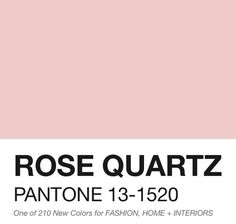 Pantone colour of the year 2016, oh how absolutely lovely -- AriaToulouse