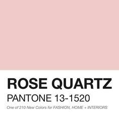 Resultado de imagen de pantone pink quartz