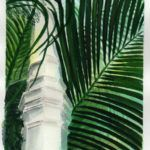 #worldwatercolormonth July 13 Palm House Karen Smith