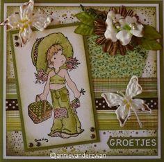 Welkom bij Jannie van der Zwan: Scrapkaarten
