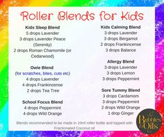 Kids Rollerblends and others