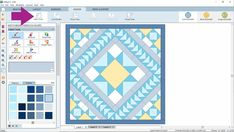 Design & Discover – Using Layer 2 to Design Quilts   The Electric Quilt Blog Which Is Correct, Electric Quilt, Three Dots, Paint Brushes, Quilting Designs, Layers, Quilts, Projects, Blog