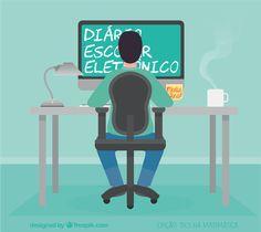 Nosso blog ganhou uma versão de diário eletrônico de um leitor para compartilhar: http://bit.ly/diario-classe-eletronico