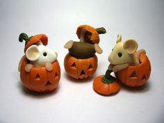 Pumpkin Mice | The mice found some more pumpkins to play in … | Kirsten Miller | Flickr