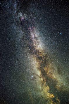 the Milky Way  夏の大三角