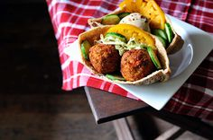 Falafel Recipe from Home-Cooked Vegan Comfort Food
