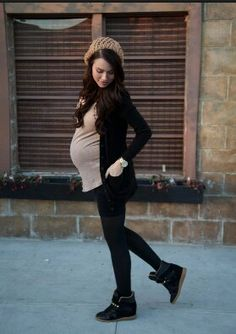 Maternity fashion.....this is SO me! :-). I wish I could look for this good on a budget.