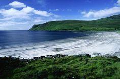 The coastline of Loch Brittle - Isle of Skye, Highland, Scotland