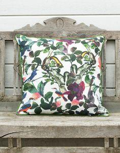 FOREST pute multi | Pillow | Pillow | Puter | Home | INDISKA Shop Online Cushions, Throw Pillows, Clothes For Women, Interior Design, Shop, Outerwear Women, Nest Design, Toss Pillows, Toss Pillows