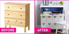 The 25 Coolest IKEA Hacks We've Ever Seen.  Props to these folks for being so creative.