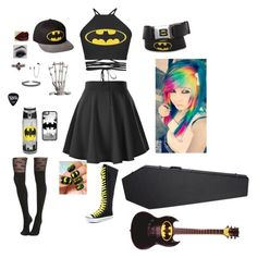 """""""If my band played at warped tour 1st outfit"""" by hayleybvb on Polyvore featuring Topshop and Casetify"""