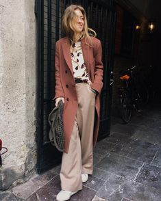 Imagem de fashion and street style Fashion 2017, Look Fashion, Fashion Outfits, Womens Fashion, Fashion Trends, Fall Fashion, Looks Style, Style Me, Business Outfit Frau