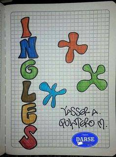 Signo Libra, Notebook Art, Bullet Journal Art, Letters And Numbers, Back To School, Lettering, Books, Crafts, Ideas Para