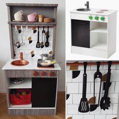 Die 8 Besten Bilder Von Diy Spielkuche Bastelei Ikea Kuche Kinder