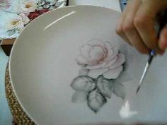 Painting Roses 絵付けで描くアメリカンのバラ2