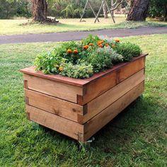 office herb garden raised balcony - Google Search