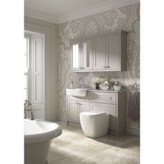 Find Shades Bathroom Vanity Unit - Breeze Shaker at Homebase. Visit your local store for the widest range of bathrooms & plumbing products. Bathroom Wall Cabinets, Bathroom Vanity Units, Bathroom Wallpaper, Bathroom Layout, Modern Bathroom Design, Bathroom Interior Design, Bathroom Furniture, Bathroom Ideas, Toilet Vanity