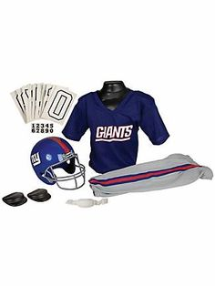 Ny Giants girl football outfit
