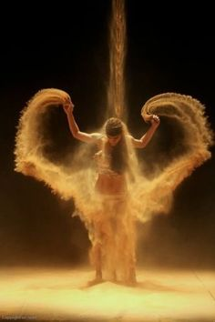 Shared by Find images and videos about dance, angel and sand on We Heart It - the app to get lost in what you love. Fotografie Portraits, Coffee And Cigarettes, Ange Demon, Angels Among Us, Dance Art, Sand Dance, Belly Dancers, Dance Photography, Wedding Photography