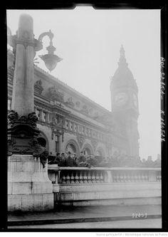 Soldats américains, gare de Lyon (agence Rol, 1919).